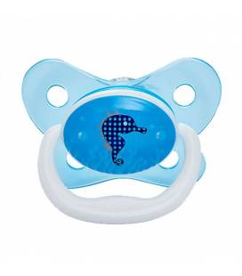 DR. BROWN'S PreVent BUTTERFLY SHIELD Pacifier, Stage 3 * 12+M - Blue, 1-Pack