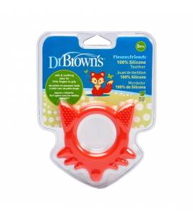 DR. BROWN'S silikoninis, lankstus kramtukas FRIENDS Laputė