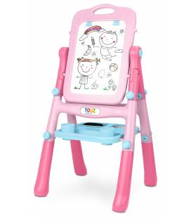 Toyz dvipusė piešimo lenta, Pink