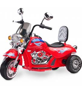 Elektroninis motociklas Toyz Rebel, Red