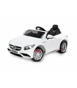 Elektromobilis Toyz Mercedes AMG S63, White