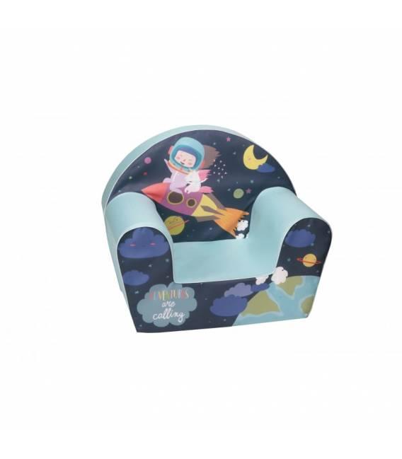 """Minkštas vaikiškas foteliukas - """"Skrendam"""""""