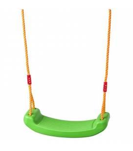 Žalios vaikiškos sūpynės iki 100 kg.