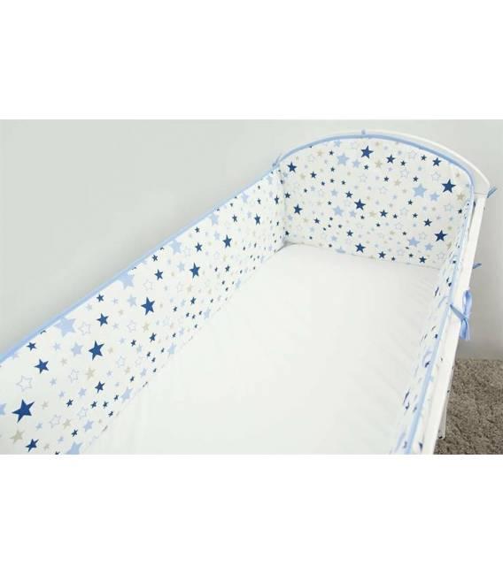 """Ankras 360 cm. apsaugėlės lovytei """"Stars"""", mėlyna"""