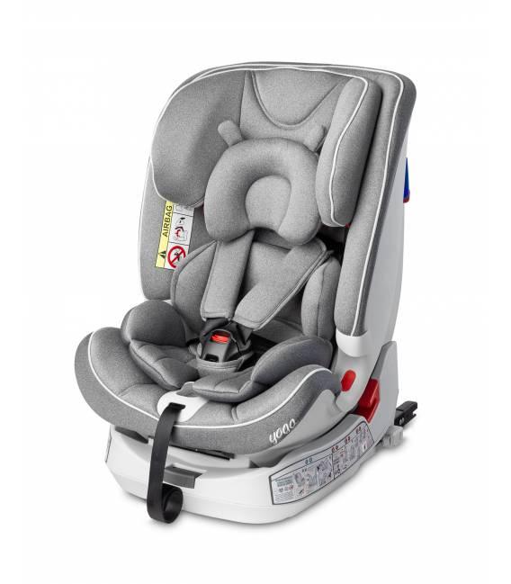 Automobilinė kėdutė Caretero Yoga 0-36 kg. Grey