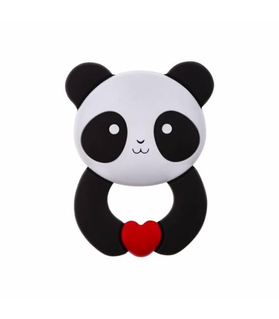 Akuku silikoninis kramtukas Panda, A0055-PANDA