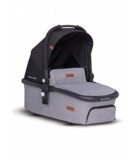 Lopšys vežimėliui Easy go Optimo Air, Grey fox