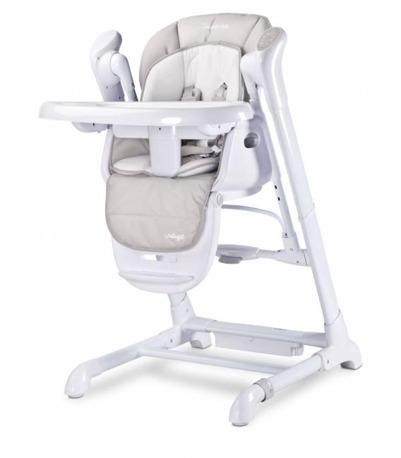 Maitinimo kėdutė, supynės Caretero Indigo, Light grey