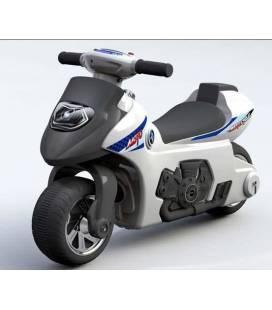 Paspiriamas motociklas, HZ-617, baltas