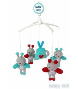 Muzikinė karuselė Baby mix, 486M, bitutės