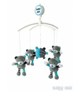 Muzikinė karuselė Baby mix, 485M, meškiukai