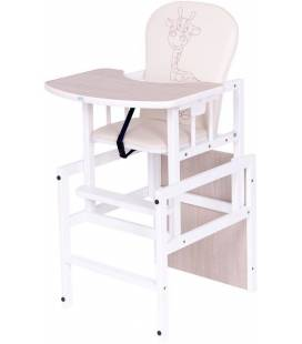 Matinimo kėdutė Drewex žirafa, kreminė-balta
