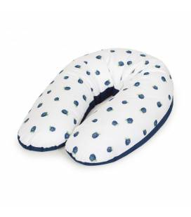 Cebababy maitinimo pagalvė džersej MULTI 190X35 cm., Gervuogė