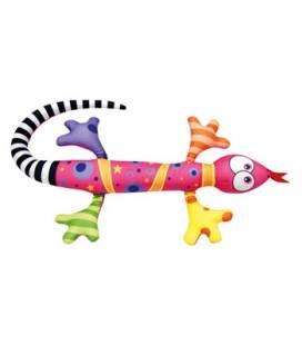 Minkštas žaisliukas - migdukas Rožinis driežas, 0+