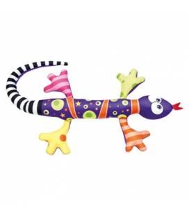 Minkštas žaisliukas - migdukas Violetinis driežas, 0+