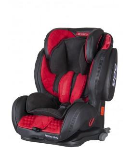 Automobilinė kėdutė Coletto Sportivo only isofix 9-36 kg. Red