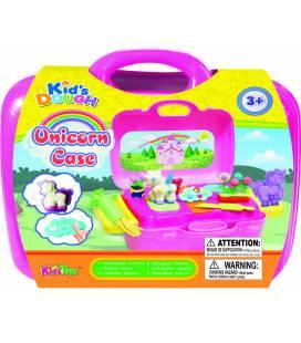 Kid's DOUGH modelino/plastilino rinkinys dėžutėje Unicorn Case, 11312