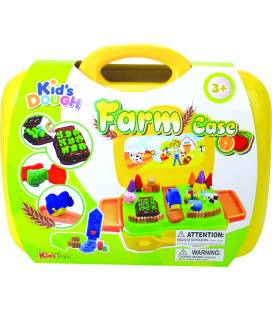 Kid's DOUGH modelino/plastilino rinkinys dėžutėje Farm Case, 11311