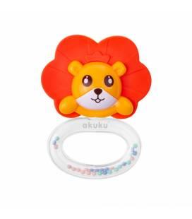 Akuku barškutis kramtukas LION, A0449