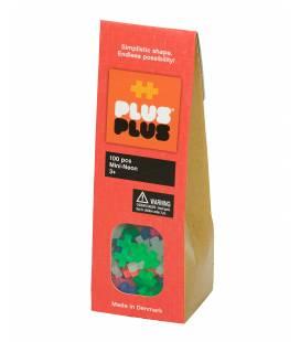 Plus Plus konstruktorius, Mini Neoninės 100