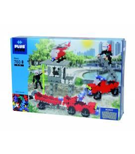 Plus Plus konstruktorius, Ugniagesių gelbėjimo stotis, Mini bazinės 760