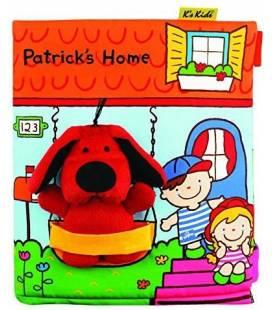"""K's Kids pirmoji kūdikio knygelė """"Patricks Home"""", KA10745"""