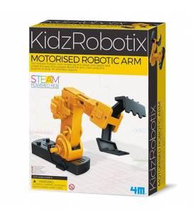Mokslinis rinkinys 4M KIDZ ROBOTIX ROBOTIC ARM, 00-03413