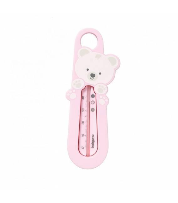 BabyOno vandens termometras - meškėnas, rožinis