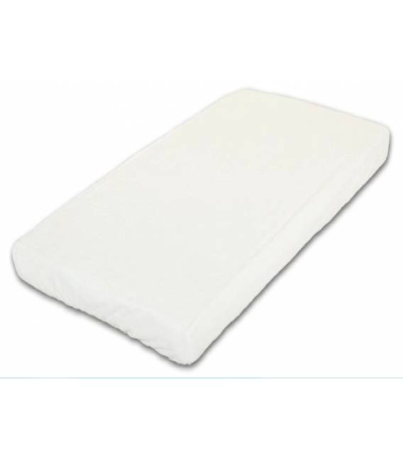 Danpol neperšlampanti paklodė su guma 120x60 cm. Balta