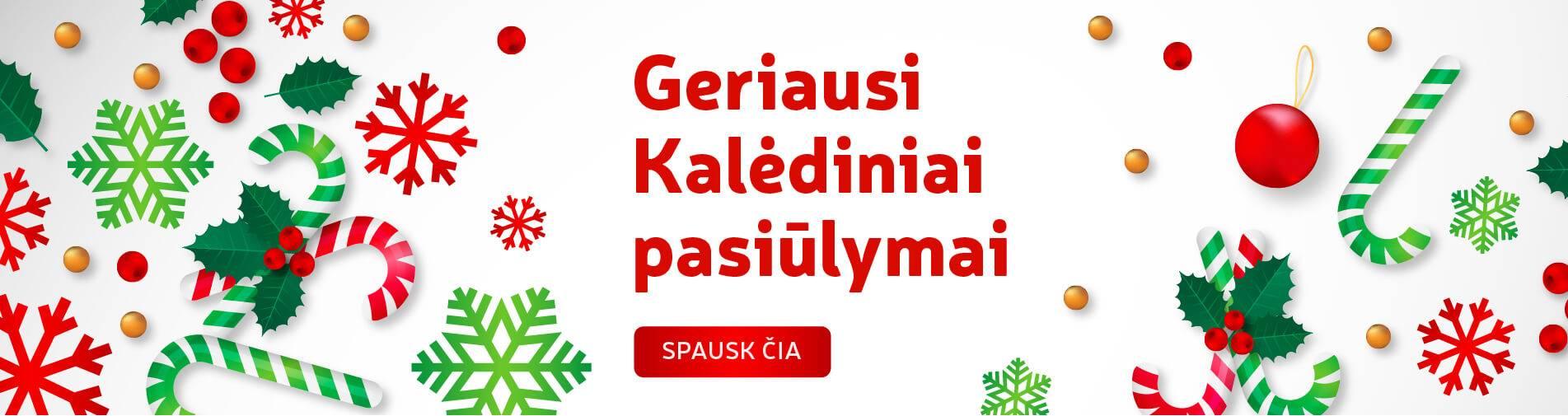 Kalėdiniai pasiūlymai